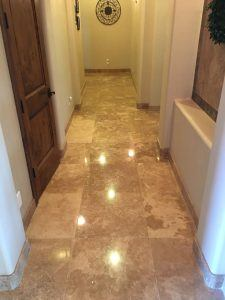 Travertine is a good choice for inside or outside your home