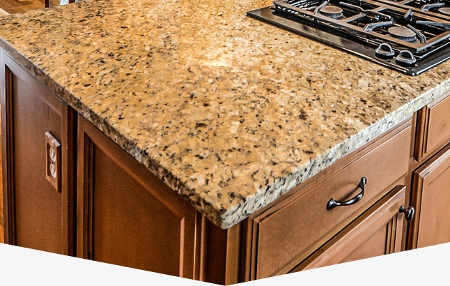 Arrowhead granite countertop polishing and sealing